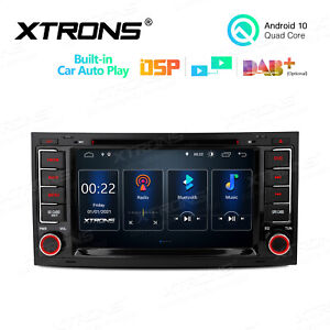 For Vw Touareg 2004 2011 Android 10 0 7 Car Stereo Dvd Obd2 Wifi 2din Radio Gps