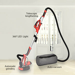 Drywall Sander 800w Electric Variable Speed Sanding Pad Adjustable W led Light