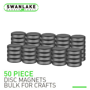 50 150 Strong Ceramic Industrial Magnets Round Craft Refrigerator Button Diy