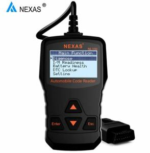 1996 2018 Check Engine Light Code Reader Scan Tool With Live Sensor Data