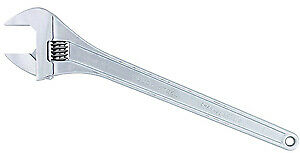 24 Adjustable Chrome Wrench Channellock Inc 824