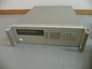 Agilent Hp Dual Output Power Supply 6622a 0 20v 4a 0 50v 2a Tested Working