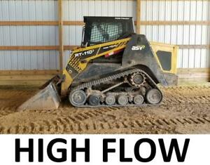 High Flow 2013 Terex Posi track Pt110 Track Skid Steer Loader Cat Asv Rt110