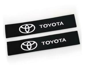 33cm Cotton Car Seat Belt Cover Pad Shoulder Auto Safety Cushion Pad For Toyota