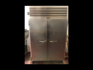 2 Door Commercial Refrigerator Stainless Steel