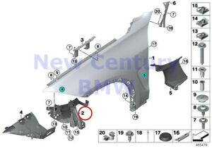 Bmw Genuine Front Side Panel Mounting Parts Right Module Mount F15 F16 F85 F86