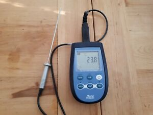 Delta Ohm Hd 2307 0 Professional Portable Thermocouple Thermometer With Pt100 S