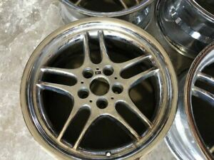 Bmw M Parallel Style 37 Replica Chrome Staggered E38