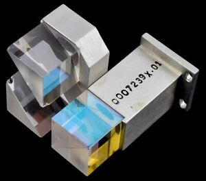 Thorlabs Bs018 Mounted Optic Non polarizing 20mm Beamsplitter Cube dual Prism