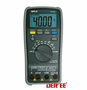 1pc Dmm Lcr Digital Multimeter Meter Trur Rms De 243c 4000 Count Nr 38w Der Ee
