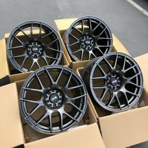 17x8 25 17x9 75 Xxr 530 5x100 114 3 25 Chromium Black Rims Fits 350z G35 Coupe