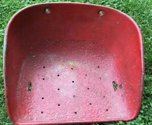 Massey Ferguson 35 Tractor Metal Seat Pan Assembly With Flip Over Bracket