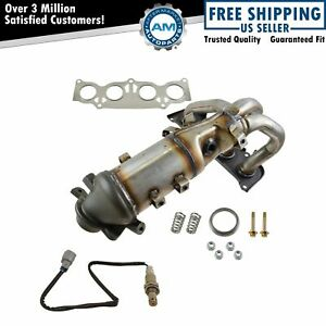 Exhaust Manifold Catalytic Converter W Upstream O2 Sensor For Toyota Scion New