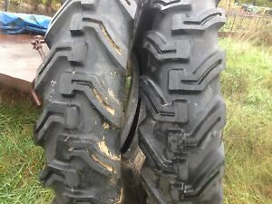 18 00x33 United Tire Tractor Loader Tires Rock Truck Tires Not Used