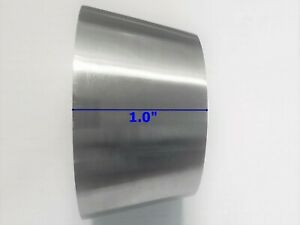 Ss 304 Reducer 2 5 To 3 Transition Polished Stainless Steel Short Length 25 Mm