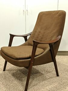 Mid Century Lounge Chair By Ingmar Relling For Westnofa Danish Modern