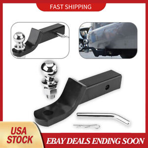 2 Class Iii Loaded Ball Mount Hitch Receiver Trailer Fits Pickup Truck Suv Part