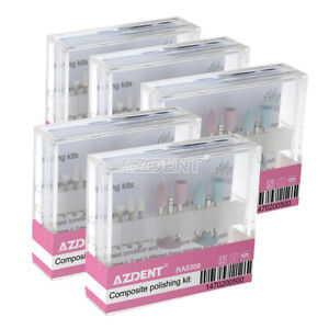 Ra 0309 Dental Composite Polishing Diamond Burs Kit For Contra Angle Handpiece