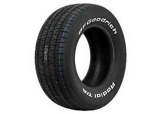 2 New P155 80r15 Bf Goodrich Radial T a Tires 155 80 15 1558015
