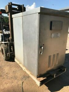 Large Aluminum Electrical Cabinet Traffic Control Cabinet 60 X 40 X 27