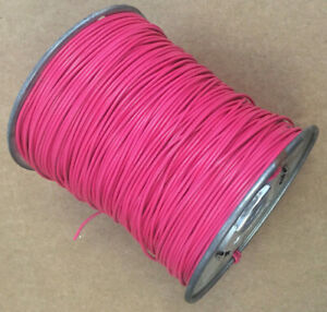 M16878 2 bfb 2 Red 22 Awg Pvc polyvinyl Chloride Temperature Rating 105 c