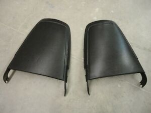 1970 1971 Mopar Original Bucket Seat Back Panels Cuda Challenger Charger