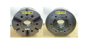 Cushman 15 3 Jaw Power Chuck A2 11 Spindle Mount Model 12580 15 220a