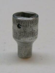 Vintage Snap On 9 32 Drive 3 16 6 Point Socket M 6 Free Usa Shipping