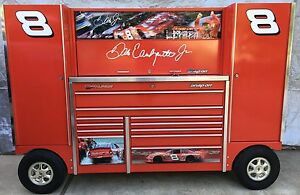 Dale Earnhardt Jr Snap On Double Bank Pit Box Tool Wagon Tuv In Nj Can Deliver