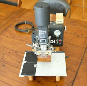 Kingsley Hot Foil Gold Stamping Machine Model Am 60 as
