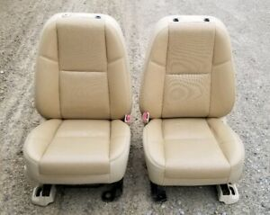 07 14 Cadillac Escalade Front Seats Tan Heated Leather Power Oem Chevrolet Gmc