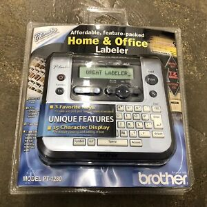New Sealed Brother Pt 1280 Labeler Label Thermal Printer P Touch