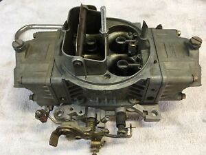 Used 4778 Holley Double Pump Carb Carburetor 700 Cfm Ford Chevy Chrysler Amc