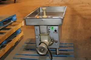 Hobart 4732a 40 minute Tabletop Meat Grinder Butcher Commercial Restaurant
