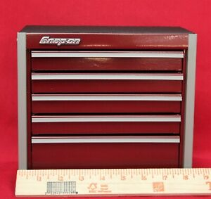 Snap On Cranberry Mini Bottom Roll Cab Tool Box new Without Box