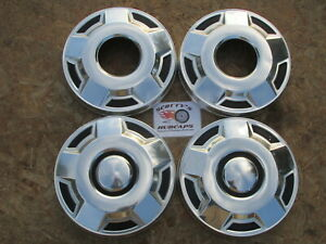 1980 S 90 S Ford 1 2 Ton 4x4 Pickup Truck Van Dog Dish Hubcaps Set Of 4