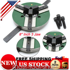 8 Inch 3 Jaw Self centering Welding Table Chuck Wp 200 200mm Reversible Wp200