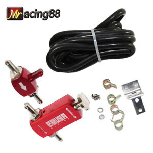 Red Emusa Universal Turbo Charger Manual Boost Controller Adjustable 1 30psi