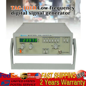 Tag 101d 5v 600 Digital Function Signal Generator Low Frequency 0 2hz 2mhz Usa