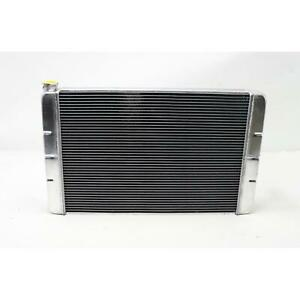 Speedway 31 In Double Pass Aluminum Radiator Small Block Ford Mo