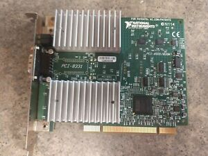 Wp03 National Instruments Pci 8331 8336 Daq Card Tested Ships Quick