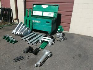 Greenlee 881 Bender 960 Hydraulic Pump 1813 Table Good Cond