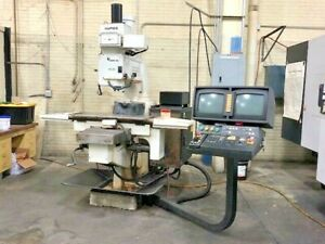Used Hurco Hawk 5m 3 Axis Cnc Knee Mill