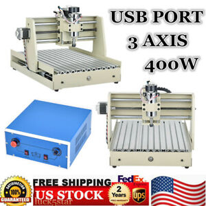 Usb 3 Axis 3040 Cnc Router Engraver 3d Cuttrer Wood Carving Engraving Machine Us