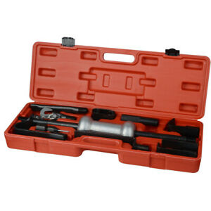 Comprehensive Axle Slide Hammer Dent Grip Panel Bearing Puller Set Tool W case A