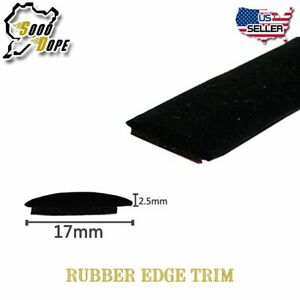 Rubber Seal Strip Car Front Rear Windshield Sunroof Edge Guard Protector By Yard