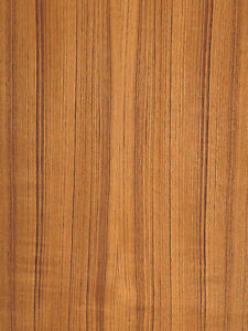 Teak Wood Veneer Quartered Paper Backer Backing 2 X 4 24 X 48 Sheet