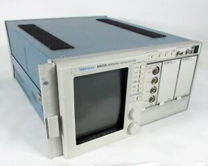 Tektronix 11403a 1ghz Color Digitizing Oscilloscope W 11a34 Module