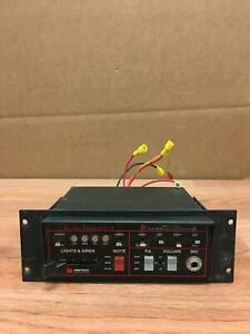 Touchmaster Tm4 Unitrol Siren Public Address Amplifier Working Free Shipping