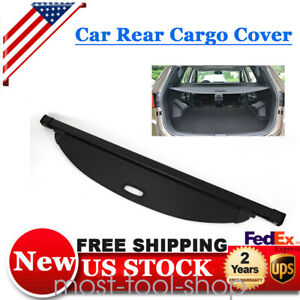 For 2016 18 Hyundai Santa Fe Sport Black Rear Trunk Cargo Cover Shade Us Stock